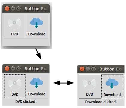 Button - Tkinter のウィジェット - Python 入門